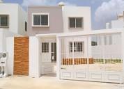 Casa en renta en merida en gran san pedro cholul de 2 recamaras nueva 2 dormitorios 203 m2