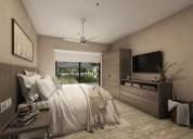 Departamento tulum palamar v plusvalia zona exclusiva 2 dormitorios 91 m2