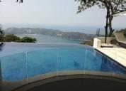 Venta casa residencial en fraccionamiento la cima en acapulco 5 dormitorios