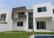 venta de casa sola en burgos temixco morelos clave 2496 4 dormitorios 275 m2