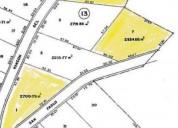 Terreno campestre en venta en el jonuco santa catarina nuevo leon 1 2700 m2