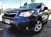 Subaru forester 2015 i x h4 at turbo remato 199 900 00 gasolina 12500 kms