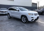 Jeep grand cherokee 2015 535 800 00 gasolina 12500 kms