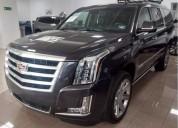 Cadillac escalade esv 6 2 premium 8 pasajeros super precio 1 523 900 00 gasolina 12500 kms