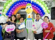 Animadoras para baby shower, diferente, divertido