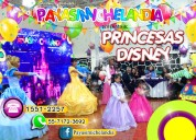 Show de princesas disney para eventos infantiles
