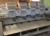 Embtec máquina bordador - brother 4 cabezales
