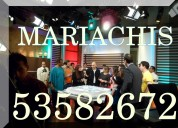 Contratar mariachis por telefono en xochimilco 53582672 | serenatas urgentes | mariachi 24hs df |