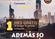 Promociones en idiomas