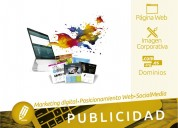 Páginas web y sistemas web, marketing digital