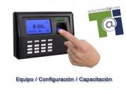 Venta e instalación de  checador biometrico