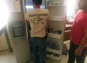 Reparación de refrigeradores. carga de gas