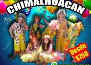 Sorpresas payasos show en chimalhuacan