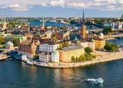Viaja al norte / sueco, noruego, etc...