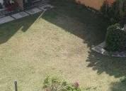 Se renta casa con roof garden 3 dormitorios.