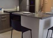 Renta excelente departamento santa fe 2 dormitorios 100 m² m2