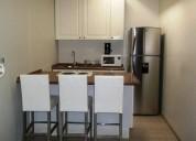 Departamento amueblado en renta en villa jardin 1 dormitorios 25 m² m2