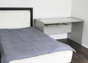 Rento estudio amueblado 1 dormitorios
