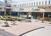 Se renta local dentro de plaza comercial
