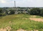 Excelente terreno urbanizado para inversionistas 1 000 m2