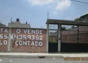 Se vende terreno en san vicente chicoloapan 305 m² m2
