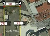 Avenida terreno para edificios en guadalajara