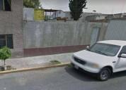 Oportunidad terreno constructoras o casa en gustavo a. madero