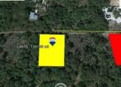 Venta terreno en sierra papakal lote 13 merid 1.489 m² m2