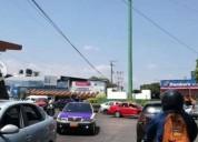Terreno en avenida por glorieta tlaltenango.