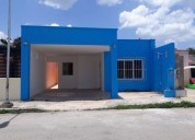 venta de bonita y comoda casa fracc sol de caucel merida yucatan 2 dormitorios 160 m2