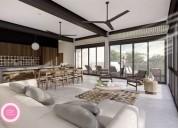 Departamento venta mudra tulum 2 dormitorios 129 m2