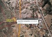 M c venta terreno en ejido los arquitos jesus maria aguascalientes 1372 m2