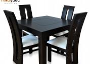 Comedores mesas muebles minimalistas mobydec