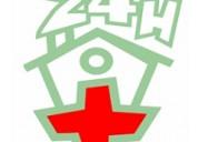 Enfermero a domicilio y hospitales 24 hrs