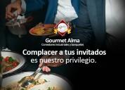Comedores industriales y banquetes gourmet alma