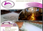Decoración para bodas ciudad de méxico