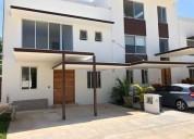 Casa nueva en renta 3 rec jacuzzi residencial aqua by cumbres 4 dormitorios 160 m2