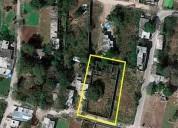 Se vende terreno completamente bardeado cerca de carretera a progreso 861 m2