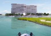 departamento en preventa marea puerto cancun cancun 2 dormitorios 212 m2