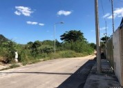 terreno en venta con frente a 2 calles col leandro valle 2537 m2