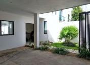 Casa en renta en merida santa gertrudis copo con piscina 3 dormitorios 1 m2