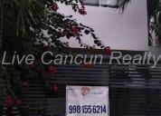 Casa renta para oficinas res isla azul cancun 3 dormitorios 120 m2