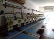 1.-bordadora 18  cabezas  marca camfive