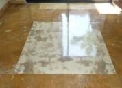 Reparación y pulido de pisos