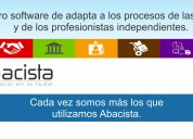 Distribuye software abacista