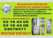 reparacion lavadoras y refrigeradores atizapan