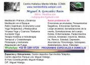 Clases de yoga y meditaciòn abierto a todo pùblico
