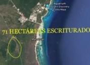 Terreno para desarrollo en mahahual 710000 m2