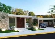Hermosa residencia en privada blue cedar komchen norte de merida 4 dormitorios 909 m2