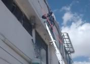 Impermeabilización remodelación oficinas locales